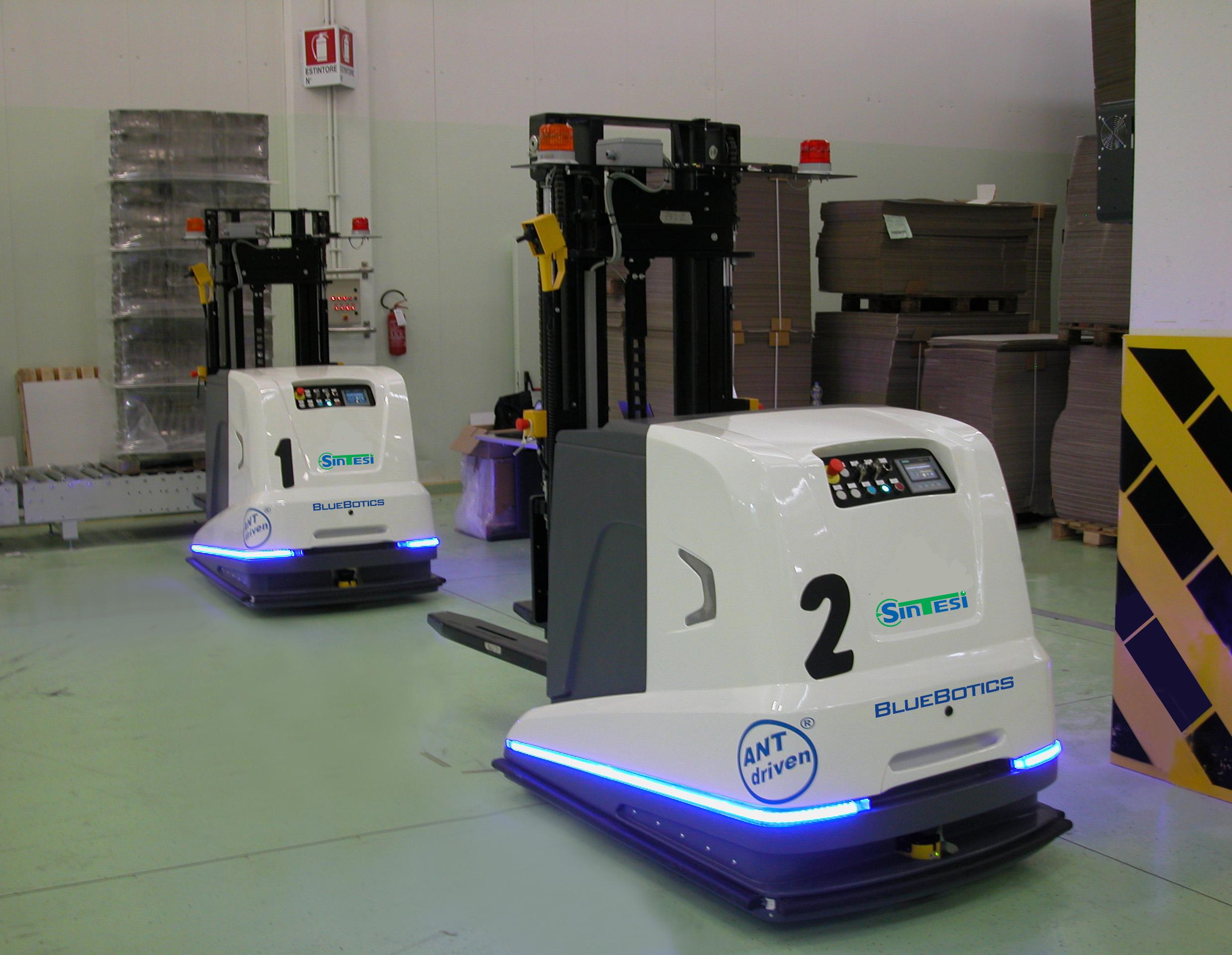 1 Movimentazione automatica con AGV-LGV